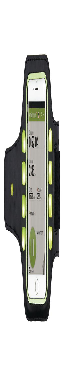 Спортивный чехол для телефона на руку с LED подсветкой фото