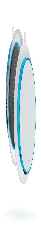 Зарядное устройство Port на солнечной батарее, синий фото
