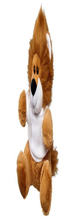 Плюшевый лев с футболкой фото