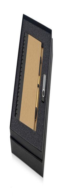 Набор Essentials с флешкой и блокнотом А5 с ручкой фото