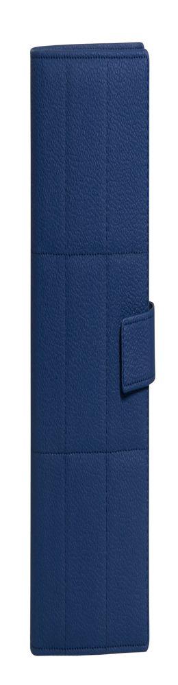 Ежедневник-портфолио Royal, недатированный, синий, подарочная коробка фото