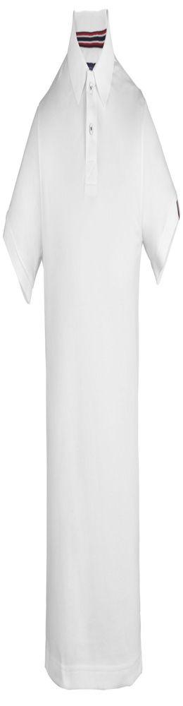 Рубашка поло мужская AVON, белая фото
