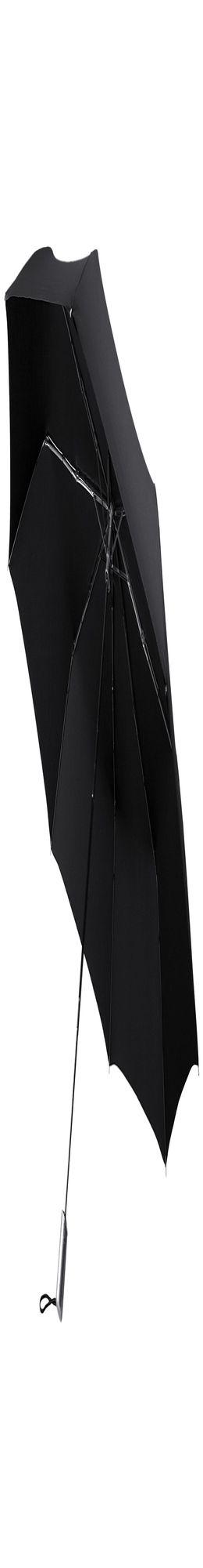 Складной зонт Alu Drop Golf, 3 сложения, автомат, черный фото