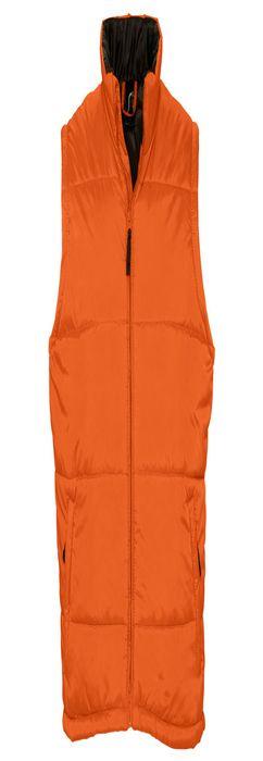 """Жилет """"Warm"""", оранжевый, 100% нейлон, 210Т, подкладка: 100 % полиэстер, плотность: 190T фото"""