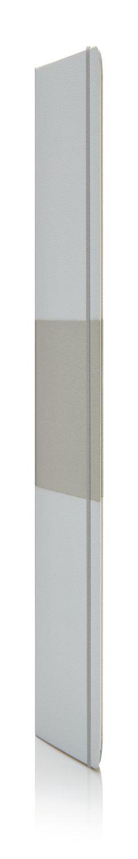 Блокнот в твердой обложке формата A5, серебряный фото