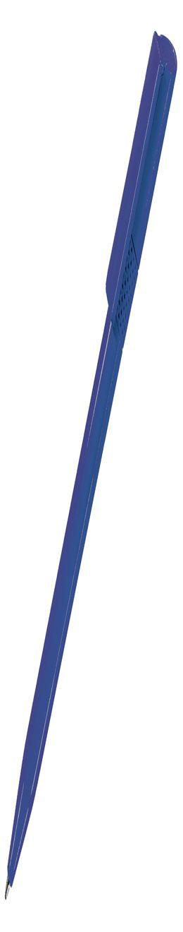 Ручка шариковая TWISTY, синий, пластик фото