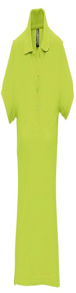 Рубашка поло женская PASSION 170, зеленое яблоко фото