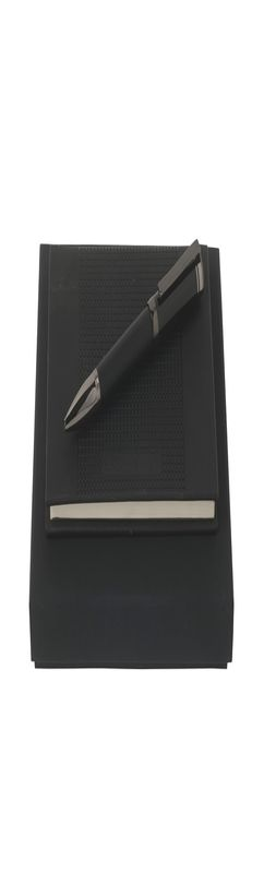 Набор (записная книжка А6, шариковая ручка) фото