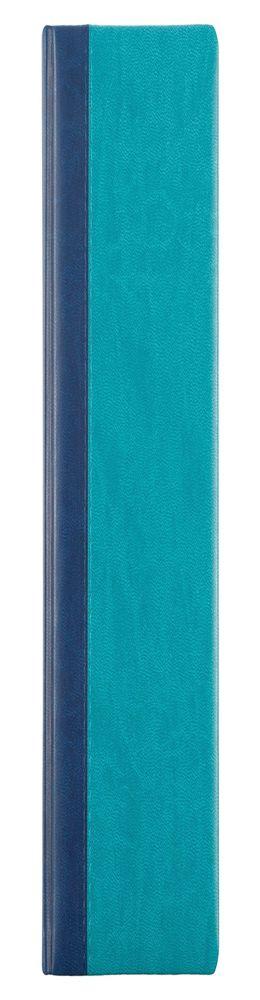 Ежедневник Norma, недатированный, сине-бирюзовый фото