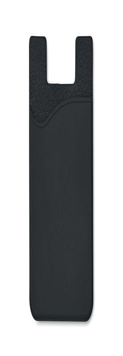 SILICARD Чехол для пластиковых карт, черный фото