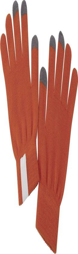 Сенсорные перчатки Scroll, оранжевые фото