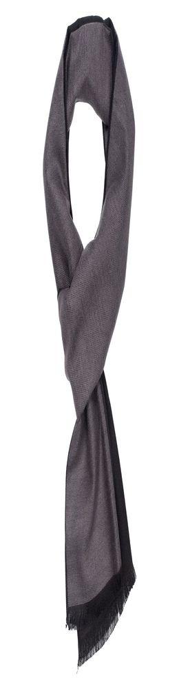 Шарф Ritz, черно-серый фото