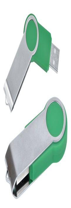 "USB flash-карта ""Swing"" (8Гб), зеленая фото"