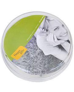 Монетница прозрачная круглая фото