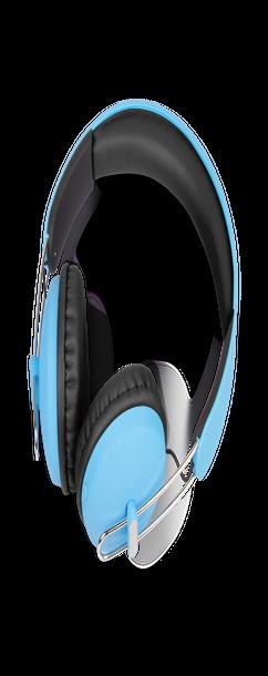 Беспроводные наушники Kubic H1, синий фото