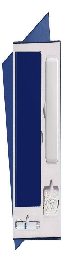 Подарочный набор Portobello/Sky синий (Ежедневник недат А5, Ручка, Power Bank) фото
