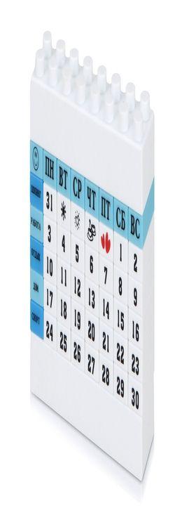 Календарь «Лего» фото