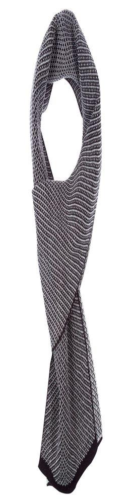 Шарф Urban, черно-серый фото
