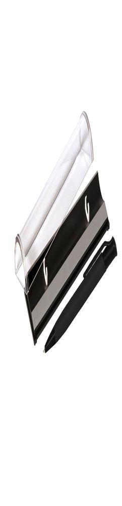 Шариковая ручка, Grunge, нажимной мех-м,корпус-алюминий, матовый, под лазерную гравировку, отд.-детали с черным покрытием, черный, в упаковке фото