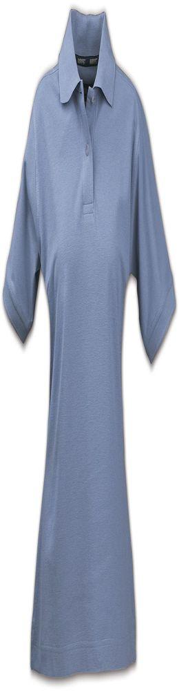 Рубашка поло женская SEMORA, голубая фото