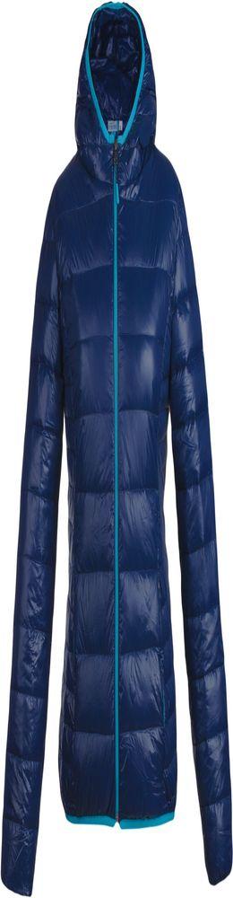 Куртка пуховая женская Tarner Lady, темно-синяя фото