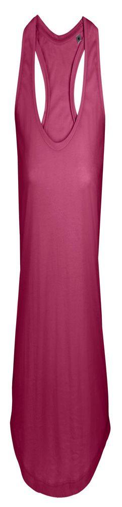 Майка женская MOKA 110, темно-розовая (малиновая) фото