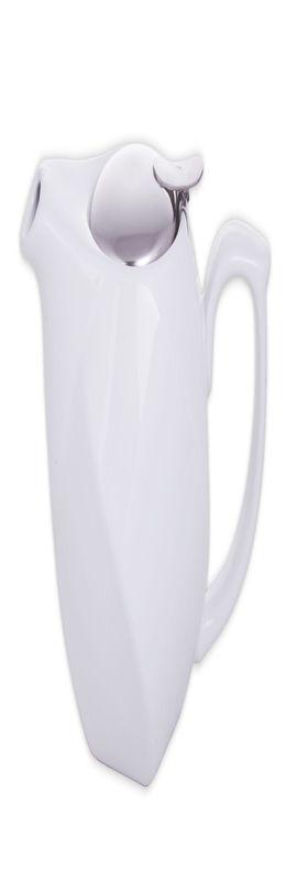 Заварочный чайник «Эстет», белый фото