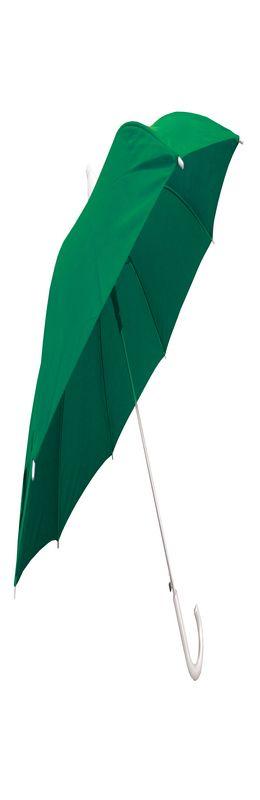 """Зонт трость """"Телескоп"""" со складным футляром,зеленый# фото"""