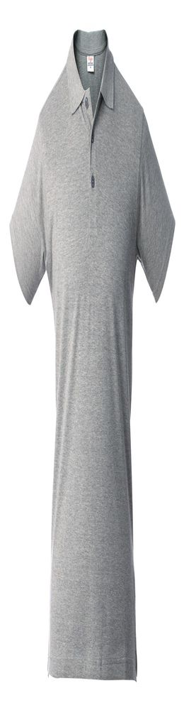 Рубашка поло мужская SURF, серый меланж фото