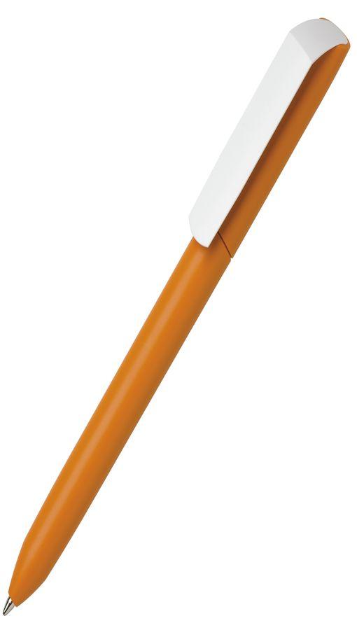 Ручка шариковая FLOW PURE с белым клипом фото