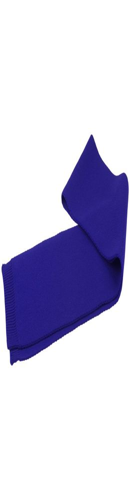 Шарф Siver, ярко-синий фото