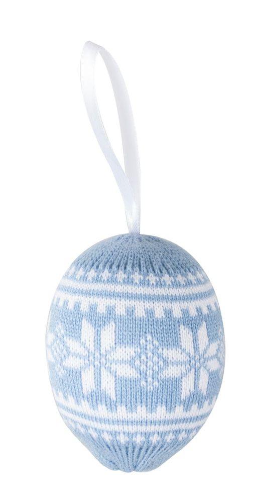 Шар новогодний «Скандик», голубой фото