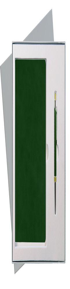 Подарочный набор Portobello/Voyage зеленый (Ежедневник недат А5, Ручка) беж. ложемент фото