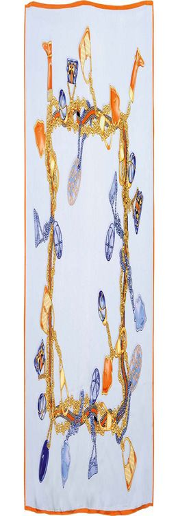 Платок шелковый фото