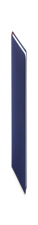 Ежедневник датированный Velvet, А5, темно-синий, белый блок, без обреза фото