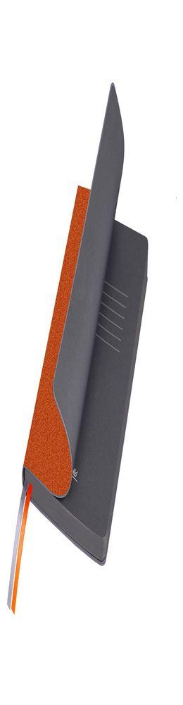 Ежедневник недатированный, Portobello Trend, TWEED, 145х210, 256 стр, оранжевый фото