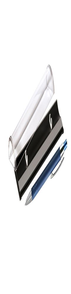 Шариковая ручка, Avenue, нажимной мех-м,корпус-алюминий,синий/отд- хром,синий, в упаковке фото