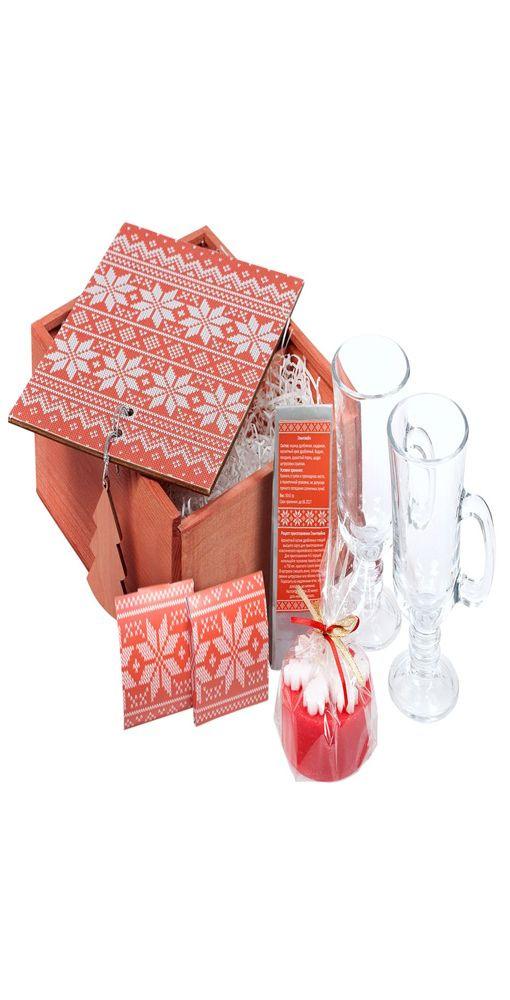 Подарочный новогодний набор «Праздничный глинтвейн» фото