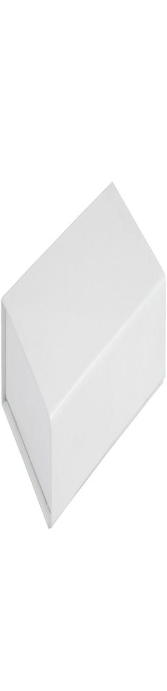 Коробочка «Блеск» подарочная, белая фото