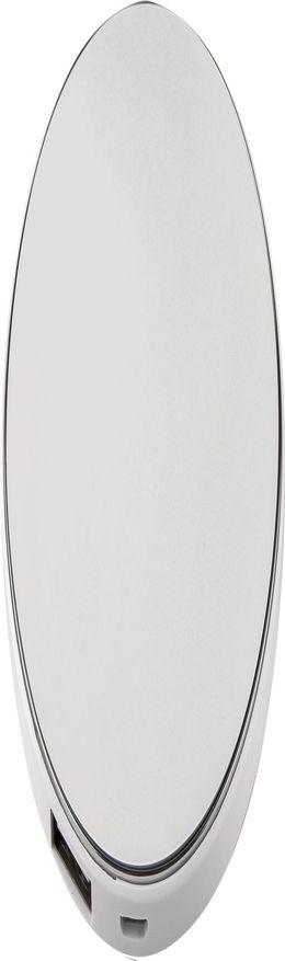 Внешний аккумулятор с подсветкой логотипа Uniscend Disc, 3000 мАч фото
