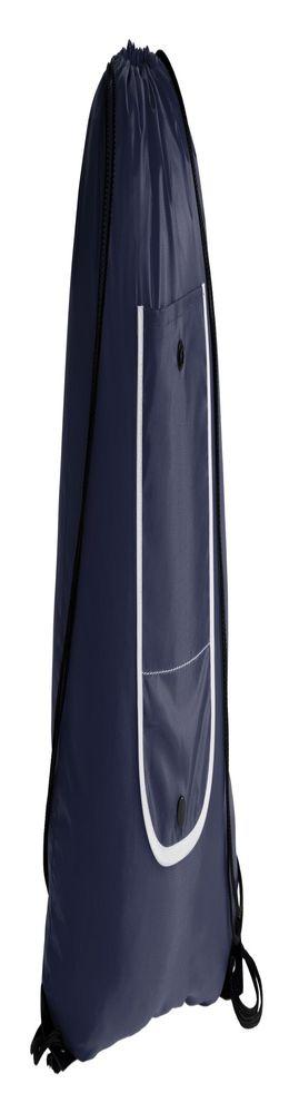 Рюкзак складной Unit Roll, темно-синий фото