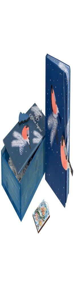 Подарочный новогодний набор «Снегири» фото
