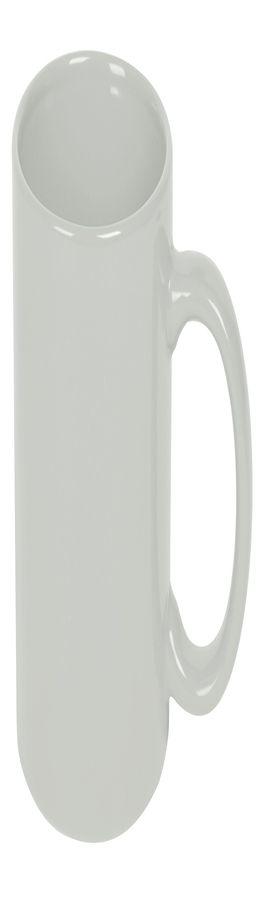 Кружка; белый; 320 мл; фаянс; деколь фото