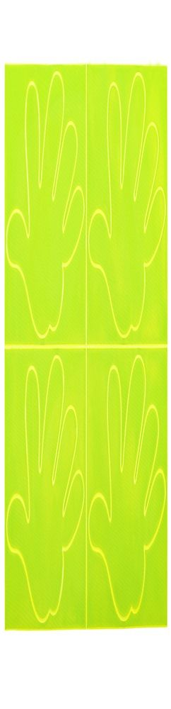 Пешеходный светоотражатеть Sticker Five фото