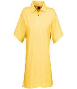 "Рубашка поло ""Boston"" женская светло желтая фото"