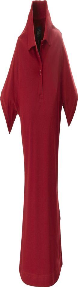 Рубашка поло стретч женская ALBATROSS, красная фото