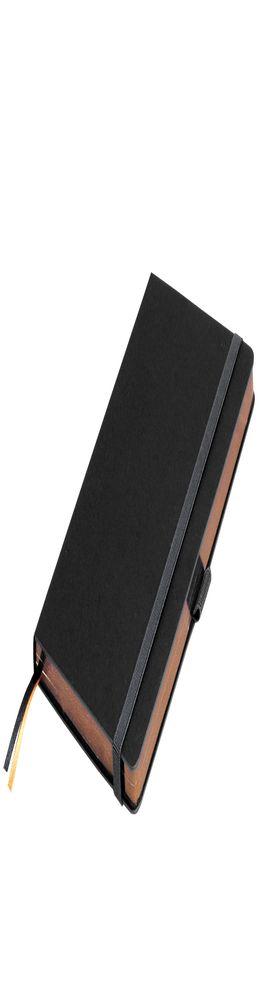 Ежедневник недатированный Portobello Trend, Space, черный/бронзовый (стикер, б/ленты) фото