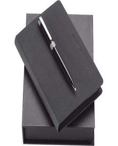 Набор Cerruti 1881: дизайнерский блокнот, шариковая ручка фото