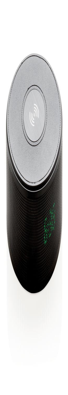 Беспроводной внешний аккумулятор с колонкой и будильником, 5 W фото