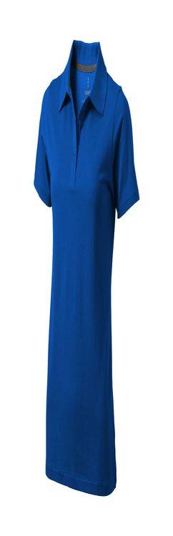 """Рубашка-поло """"Seller"""" женская, синий фото"""